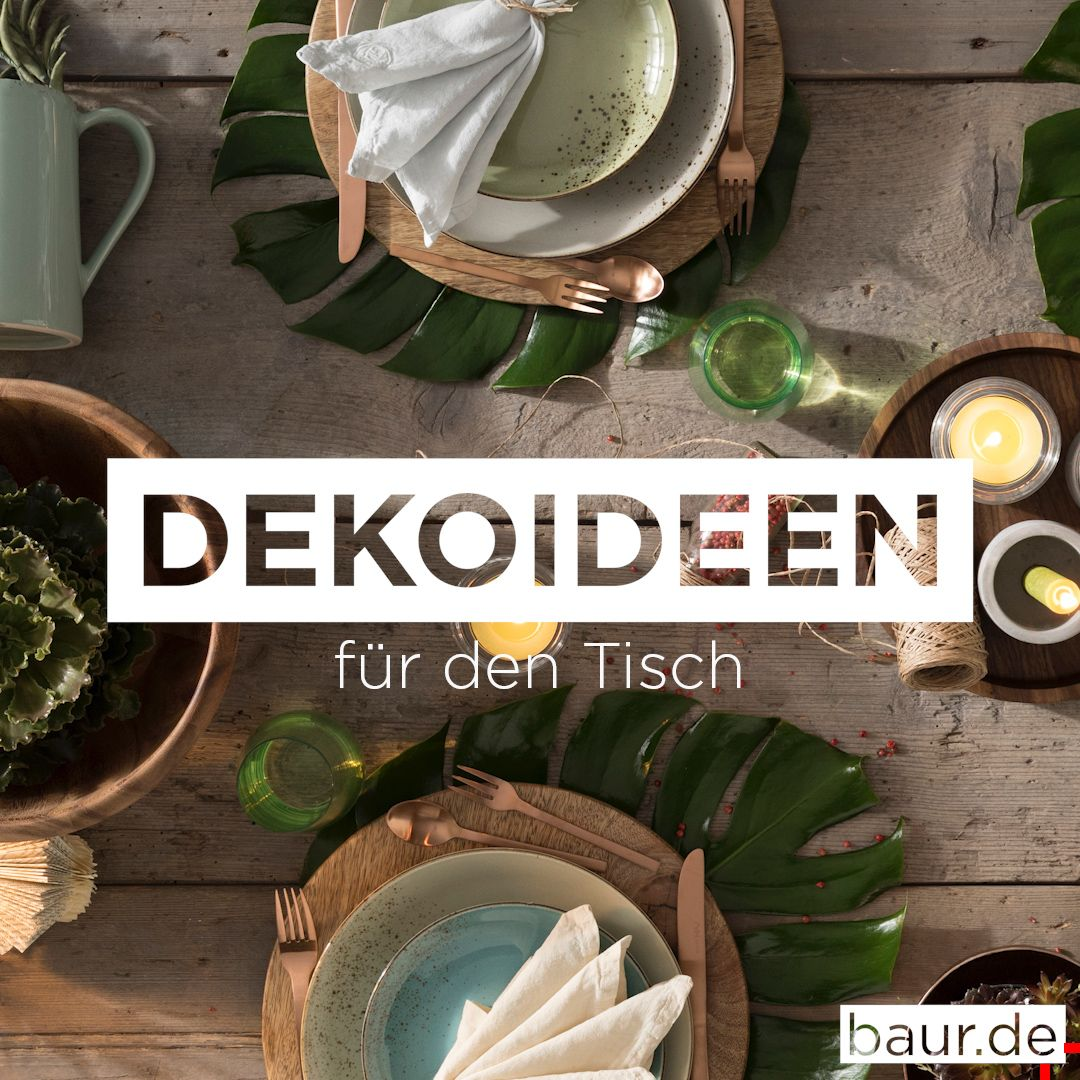 Photo of #tischdeko #dekoideen #naturlook #baur