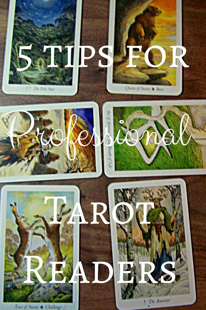 5 Tips For Professional Tarot Readers With Images Diy Tarot