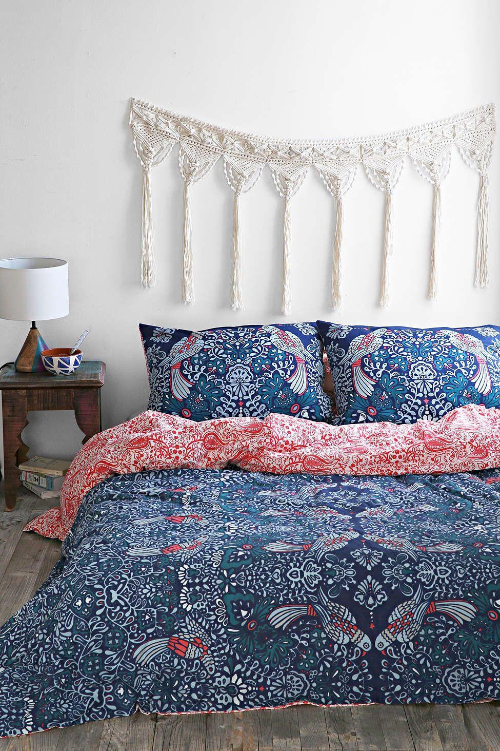 Plum u bow mirrored love birds duvet cover duvet warm bedroom and