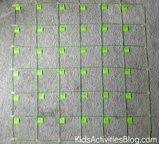 Map Game: Following Directions Grid Game {Map Skills