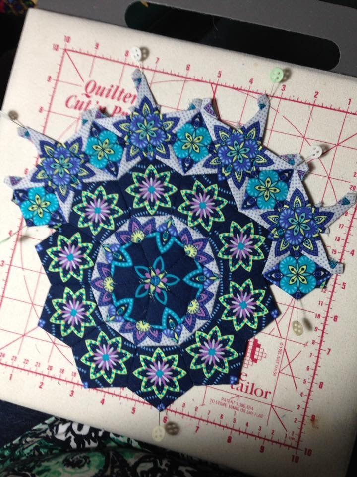 Pin von Cathy Chamberlin auf Millefiori quilts | Pinterest ...