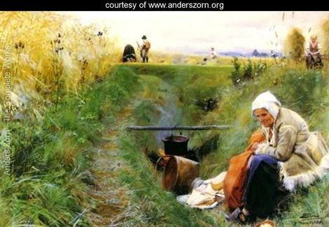 Our Daily Bread - Anders Zorn - www.anderszorn.org