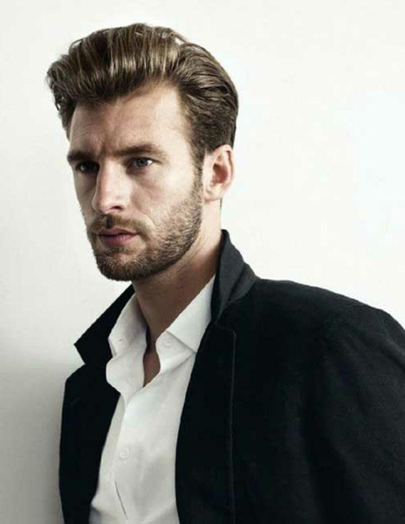Rebellische Rockabilly Frisuren Für Männer 50er Style Pinterest