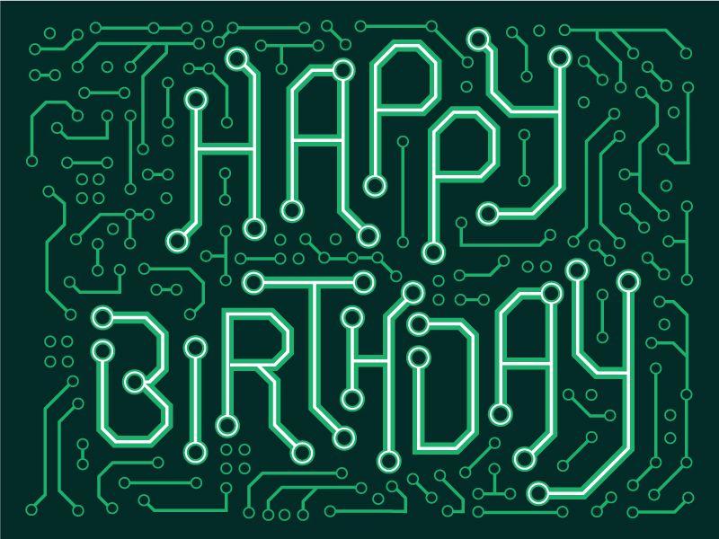 Birthday Card – Electronic Birthday Card