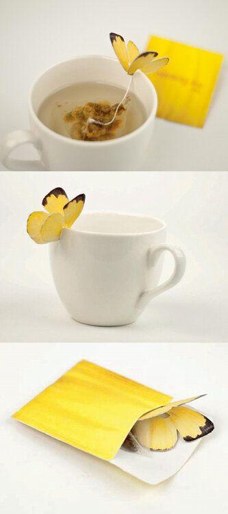 Butterfly teabag Silhouette Cameo Pinterest Schöner wohnen