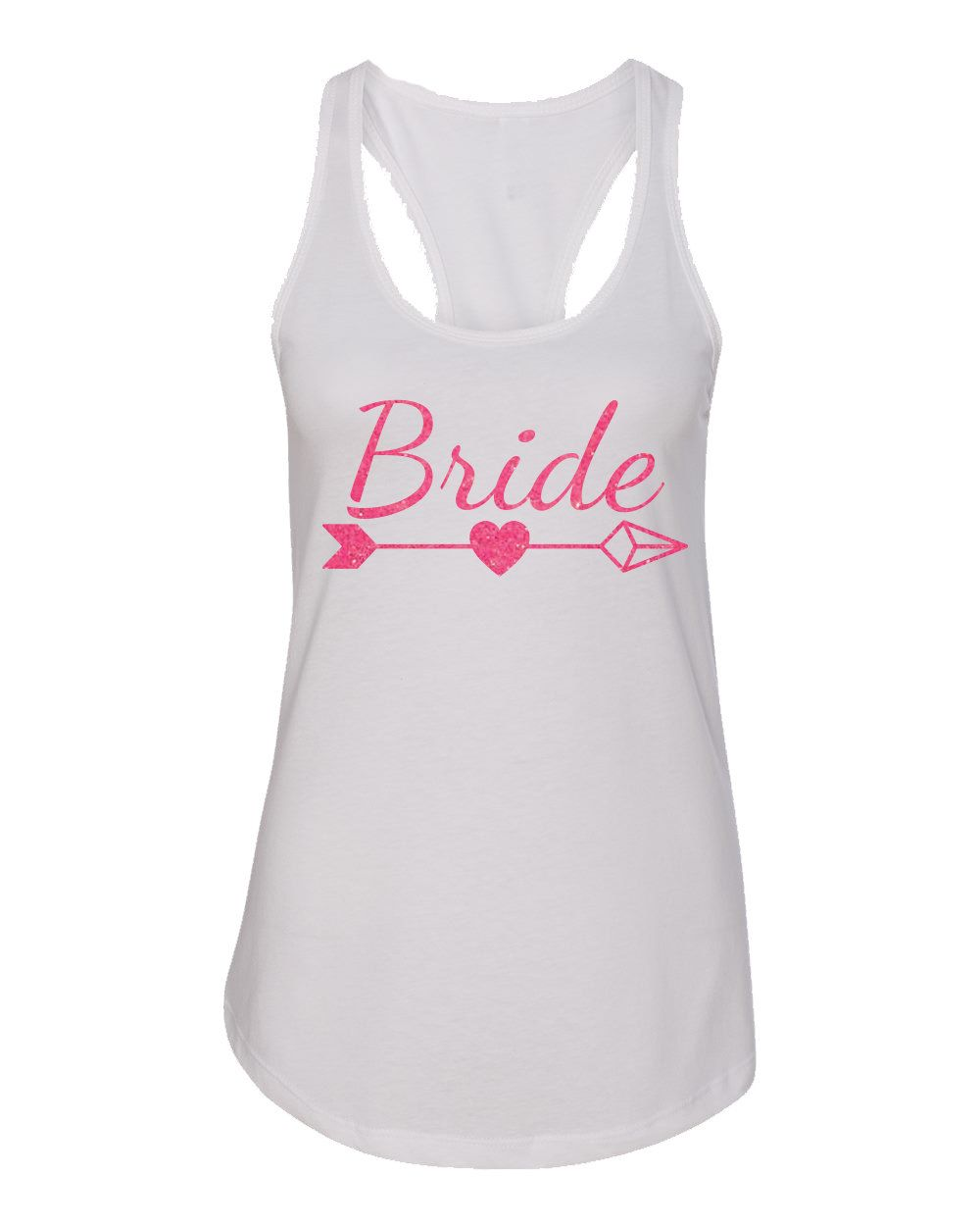 BRIDE with TRIBE Bachelorette Tank by GirlsLoveGlitter on Etsy