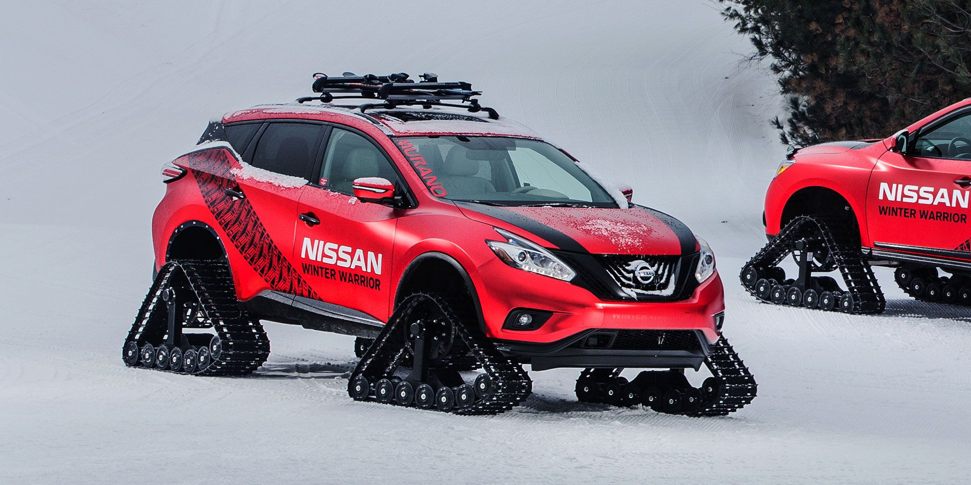 2016 nissan murano winter warrior vehicles on display chicago auto show 2016