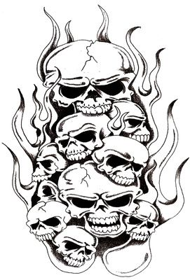 Stencil Evil Tattoo Designs : stencil, tattoo, designs, Jason, Silhouettes, Skull, Stencil,, Skulls, Drawing,, Artwork