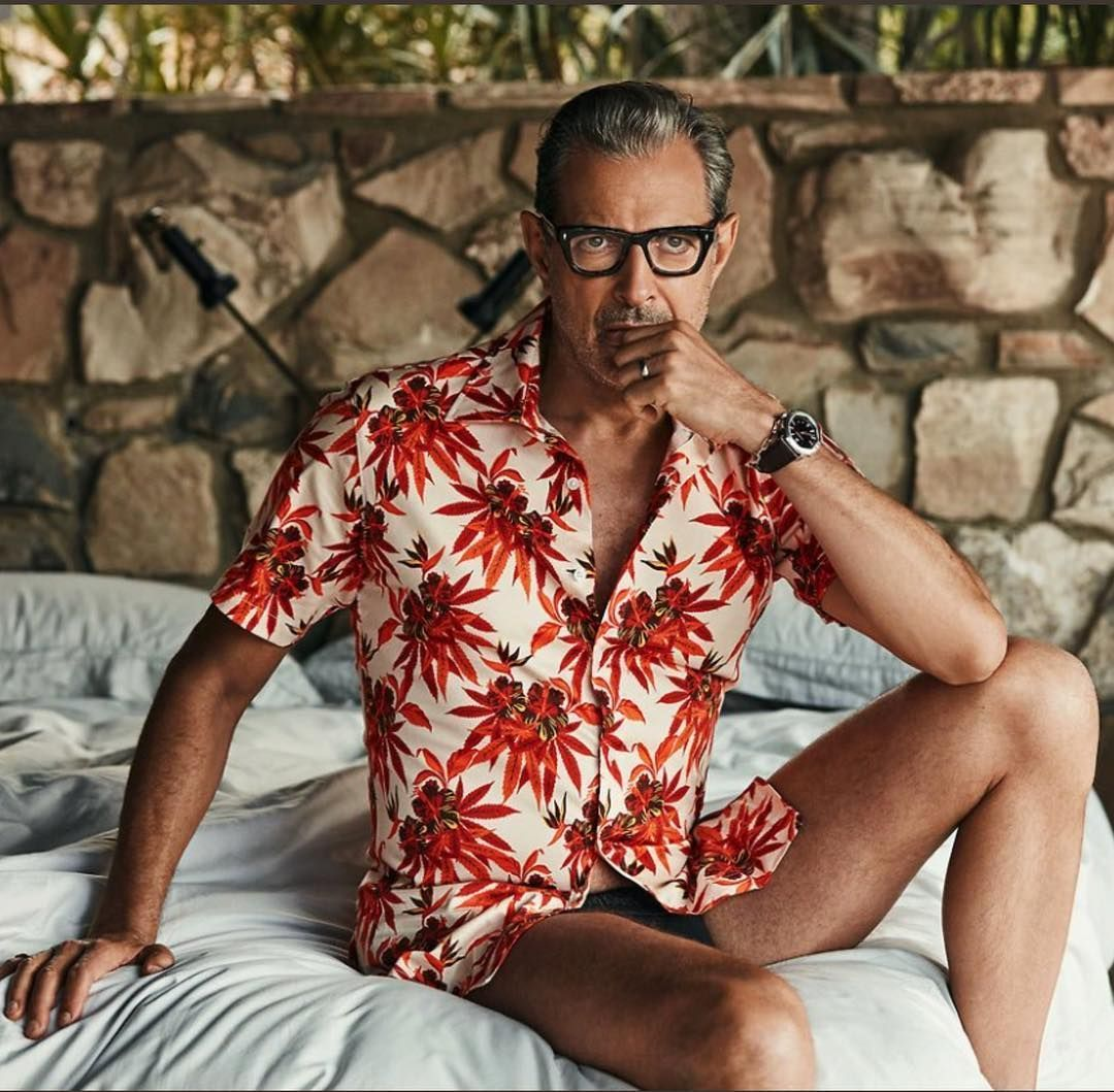 Jeff Goldblum is many things but mere mortal is not one of them Source by potidilichi men