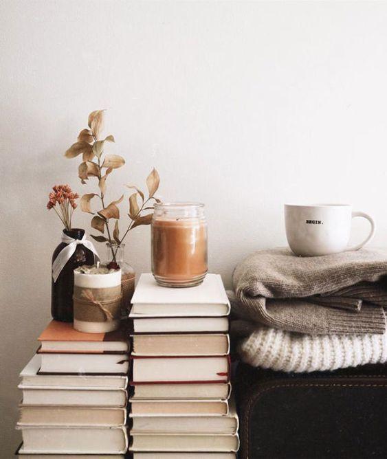 Virgo astrology home decor guide | hygge books blankets coffee cozy | Girlfriend...