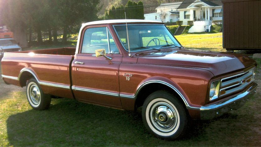 1967 chevy cst pickup