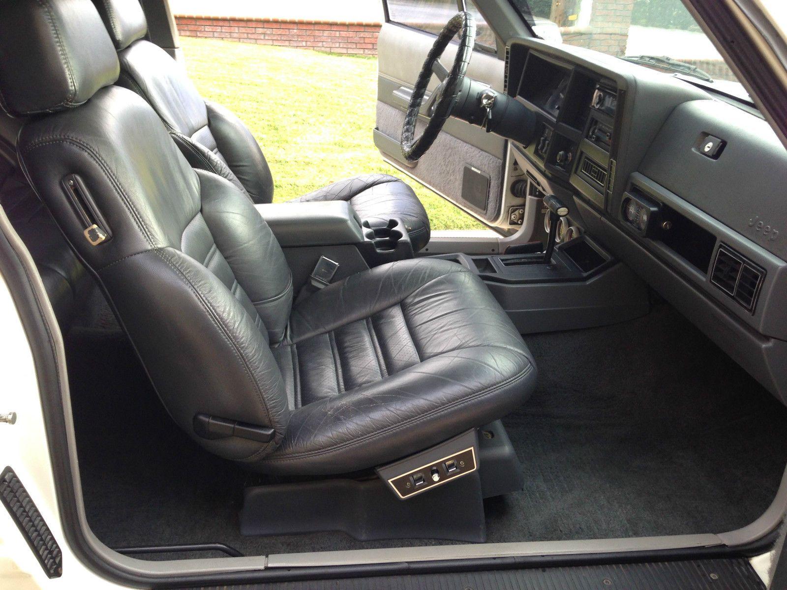 1989 Jeep Cherokee Limited Sport Utility 2 Door Ebay