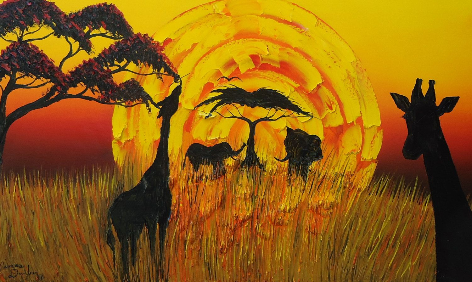 Sun Of Africa #8 by PortlandFineArt on Etsy