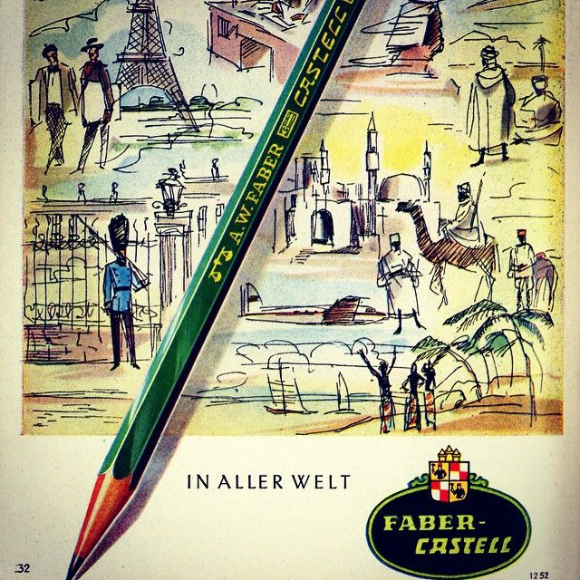 Faber Castell Official On Instagram A Classic All Over The World The Castell 9000 Throwback Throwbackthursday Tbt Cast Faber Castell World New Art