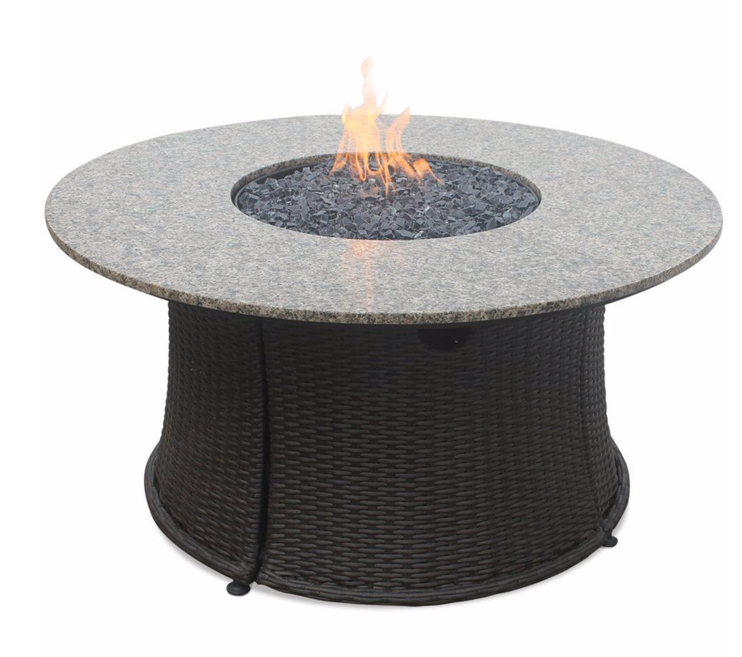 Uniflame Liquid Propane Gas Outdoor Firebowl With Granite Mantle Fire It Up In 2019 Propane Fire Pit Table Gas Fire Pit Table Outdoor Gas Fireplace