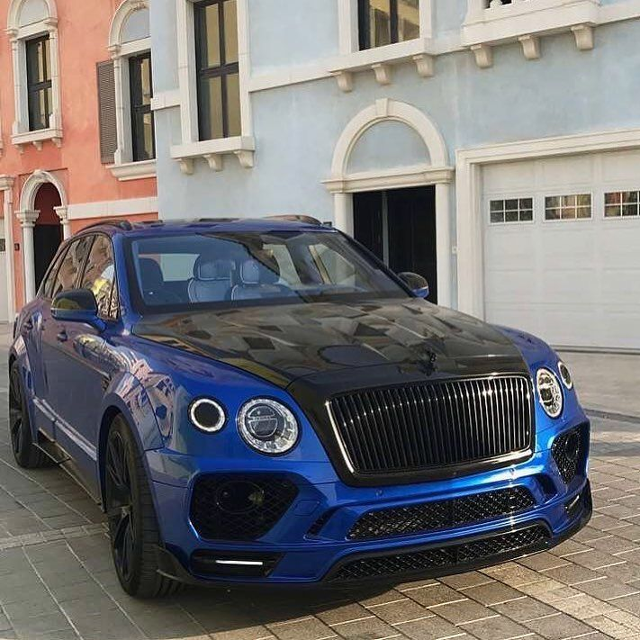 Mansory Bentayga Follow Our Friend @mralexmanos For