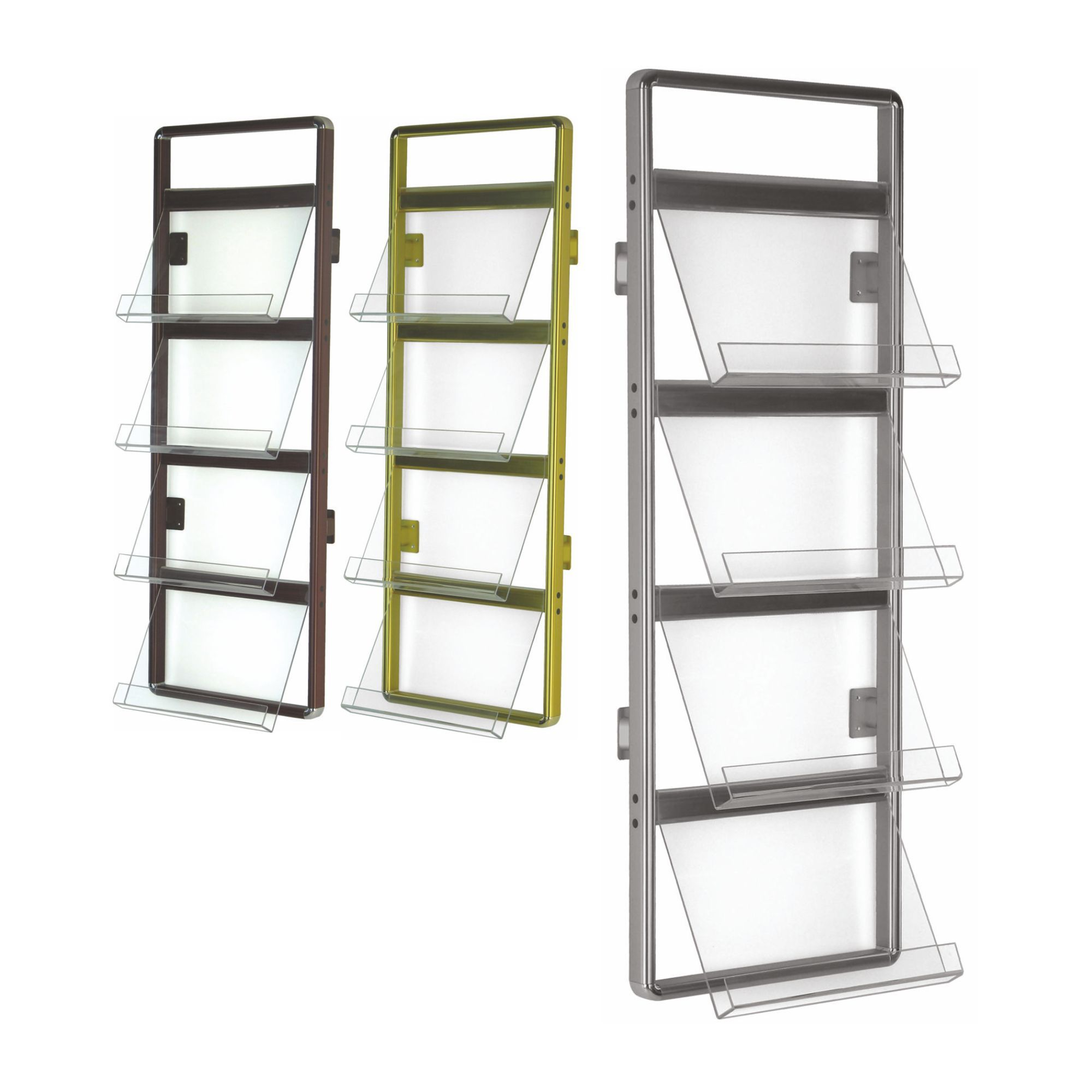 ad rack h from by display magazine stands architonic mount brochure case inno wall product en adcase