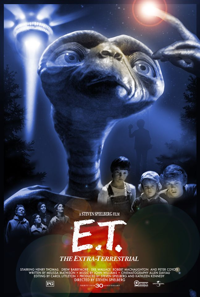 Hopko Designs Presents a 30th Anniversary Poster for E.T. – The Extra-Terrestrial - The Reel Bits