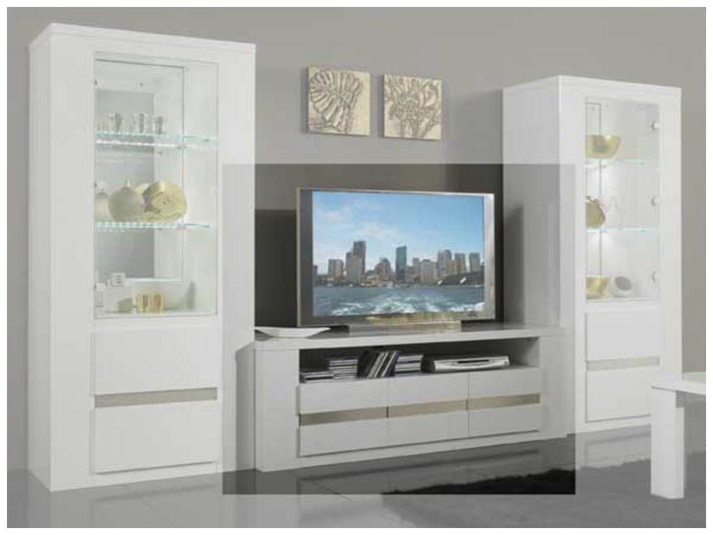 Nouveau Meuble Tv Blanc Laque Avec Rangement Meuble Tv Blanc Laque