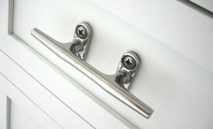 Nautical Hardware: 7 Cleats for Home Use   Cleats, Hardware and House
