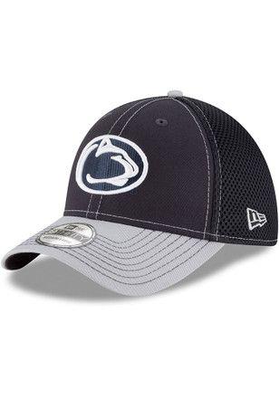 New Era Penn State Nittany Lions Mens Navy Blue 2T Neo 39THIRTY Flex ... d1e3daef6ea3