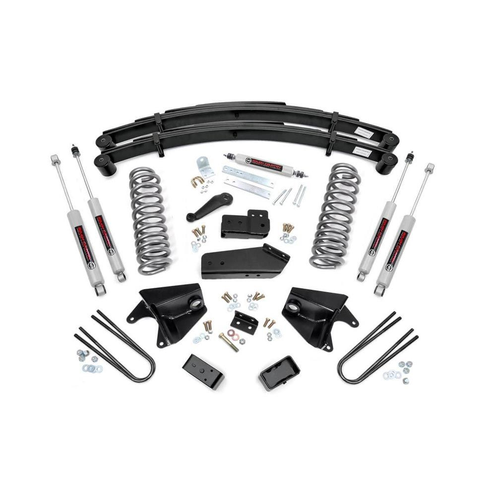 Rough Country 6 inch Suspension Lift Kit for the Ford F