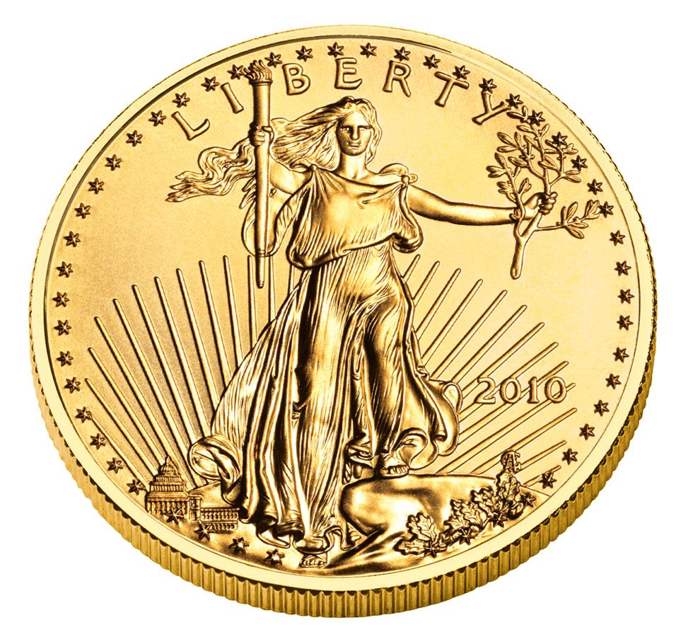 2010 American Gold Eagle Coin Pix Gold Eagle Coins Gold Bullion Bullion Coins