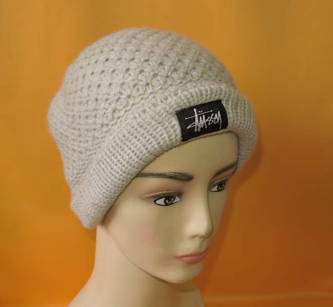 fc0a721feba18d Stussy Beanie Ski Hat Vintage Solid Knit Gray Signature Logo Designer Wool Winter  Snow Cap Made In USA by InPersona on Etsy