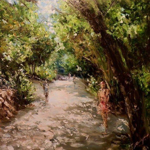 ~ Sergey Piskunov: Walk through Nikitskiy Garden