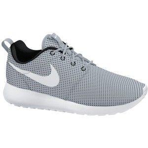 nike roshe run womens trainers wolf grey/white
