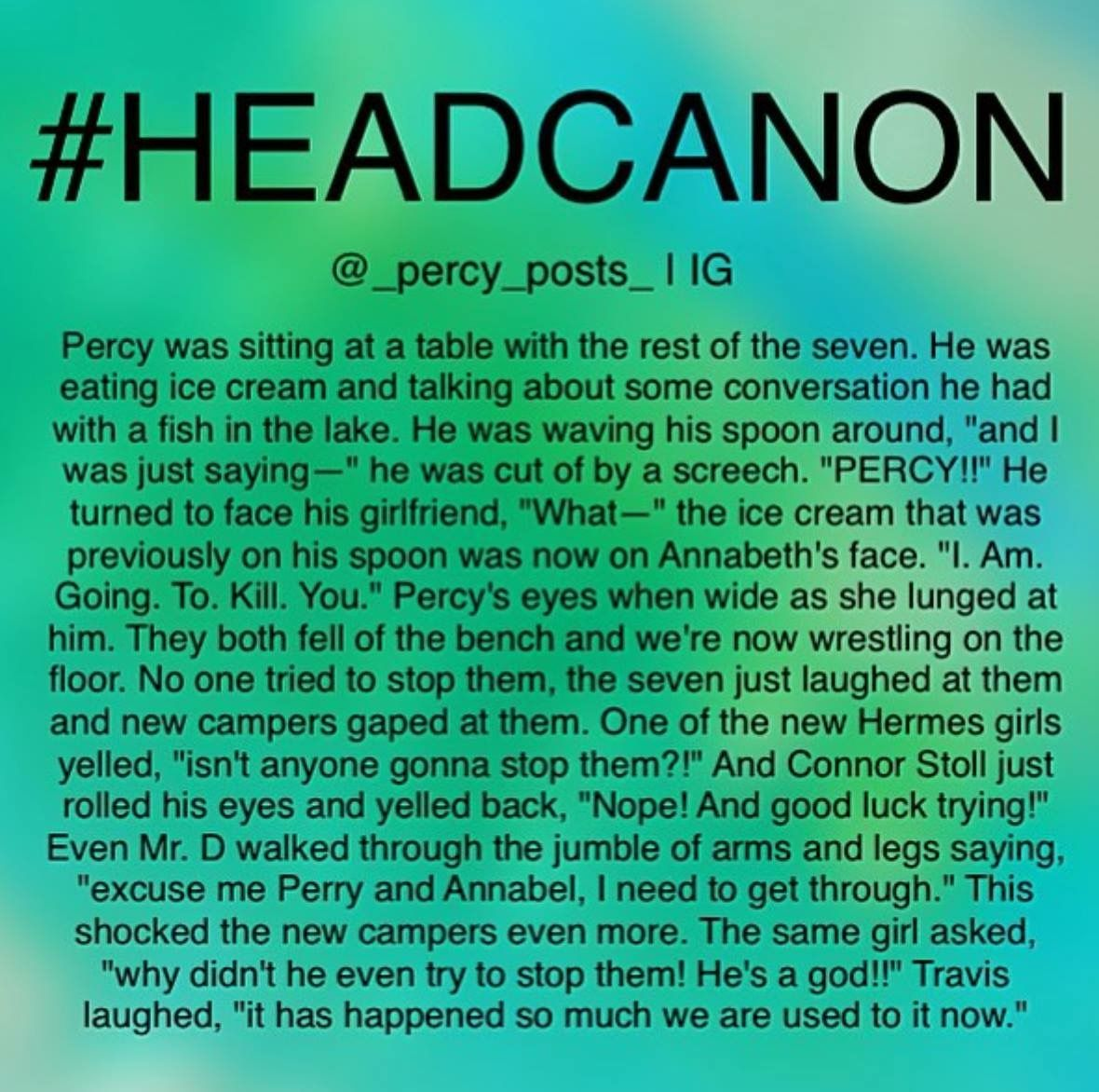Percy Jackson By Melissa Pearson On Percy Jackson And The