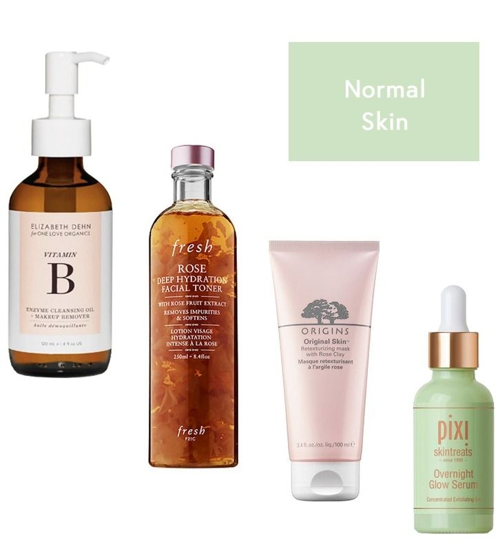 The Best Skincare Routine For Your Skin Type