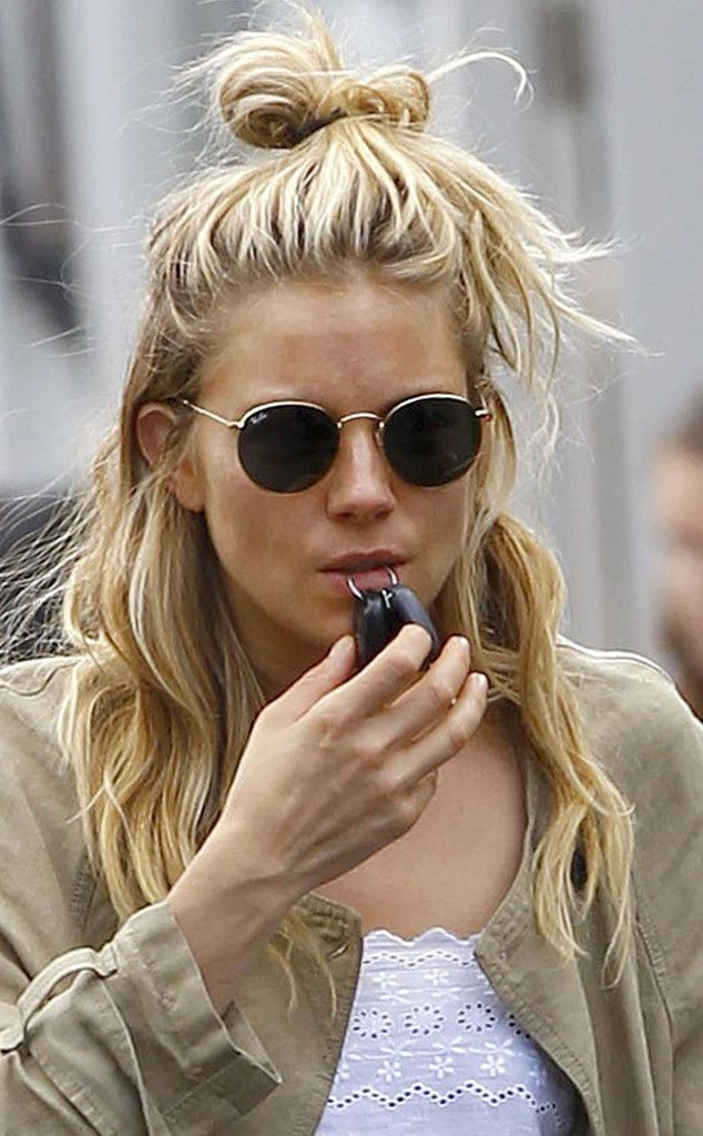 Sienna Miller from Lazy Girl Hairstyles for August
