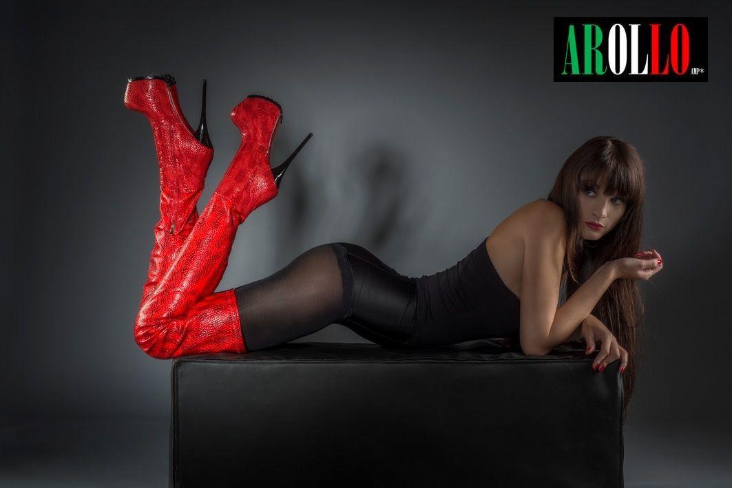 Arollo Leather Heeled Boots C96ea60a870ee37b19a13542e9d25352