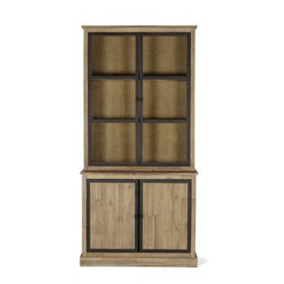 meuble double vitrine style industriel cocto buffets et vaisseliers alinea style indus. Black Bedroom Furniture Sets. Home Design Ideas
