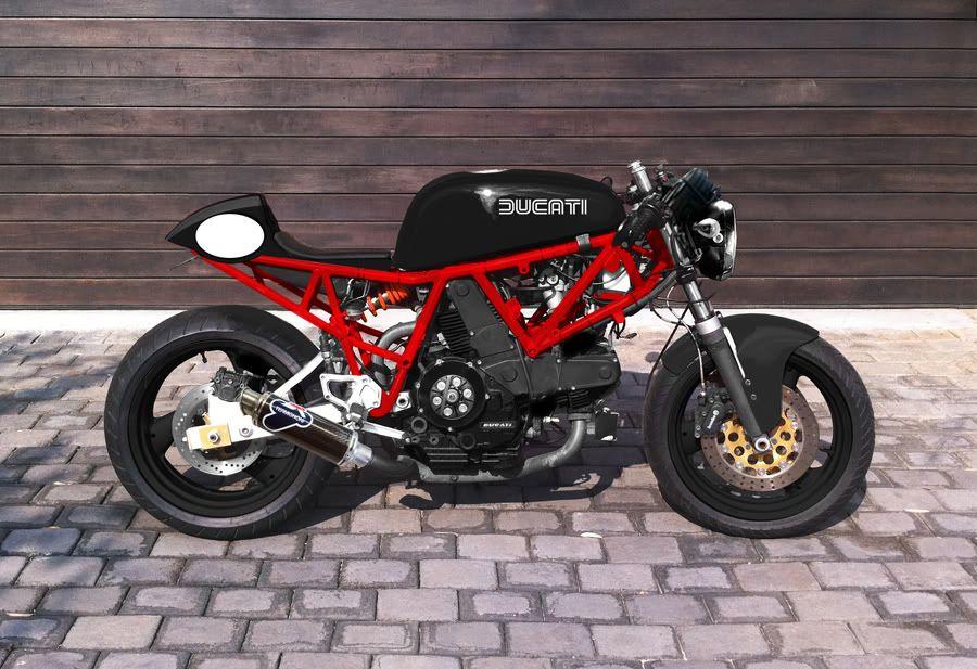 1988 Ducati 900 Super Sport Cafe Racer Cafe Racer