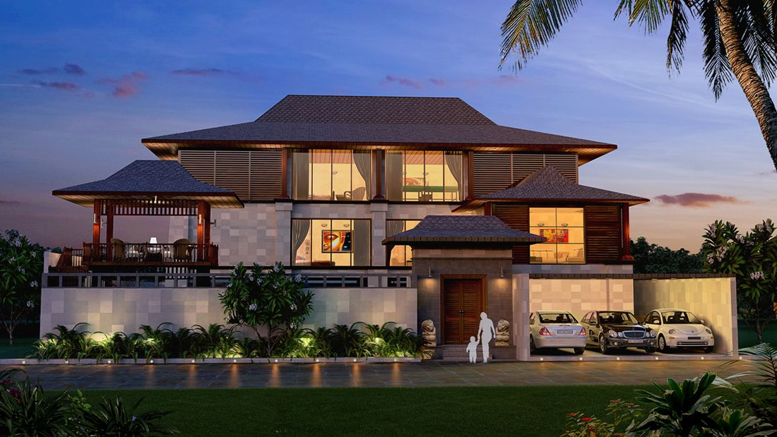 Bali style roof modern house pinterest bali style for Bali style homes to build