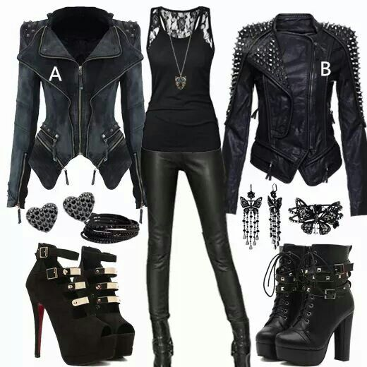 Rockerr Babe;) #emodresses