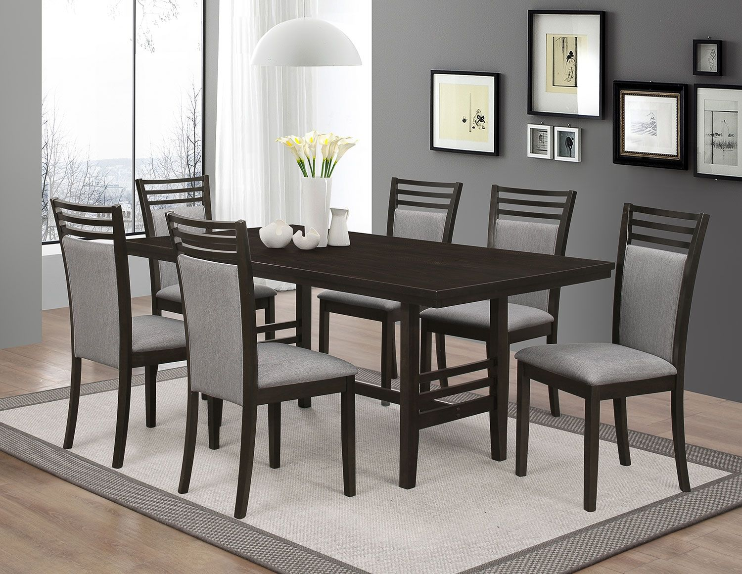 Metro 7Piece Dining Package  The Brick  Renos  Pinterest Cool Cheap Dining Room Sets Under 100 Inspiration