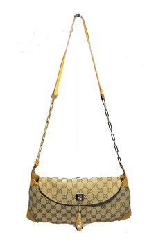 3e20b0b5e Get one of the hottest styles of the season! The Gucci Monogram Dragon  Baguette Shoulder Bag is a top 10 member favorite on Tradesy.