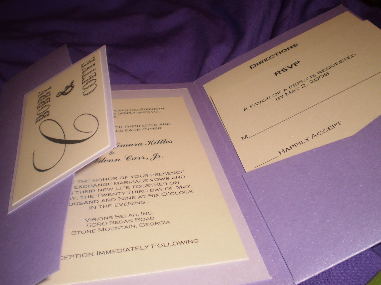 Get Beautiful Invitation Cards Printing With Die Cut And Custom Options At
