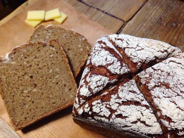 100 Whole Grain German Rye Loaf Bread Recipe By Felice Recipe Rye Bread Recipes Loaf Bread Recipe Bread
