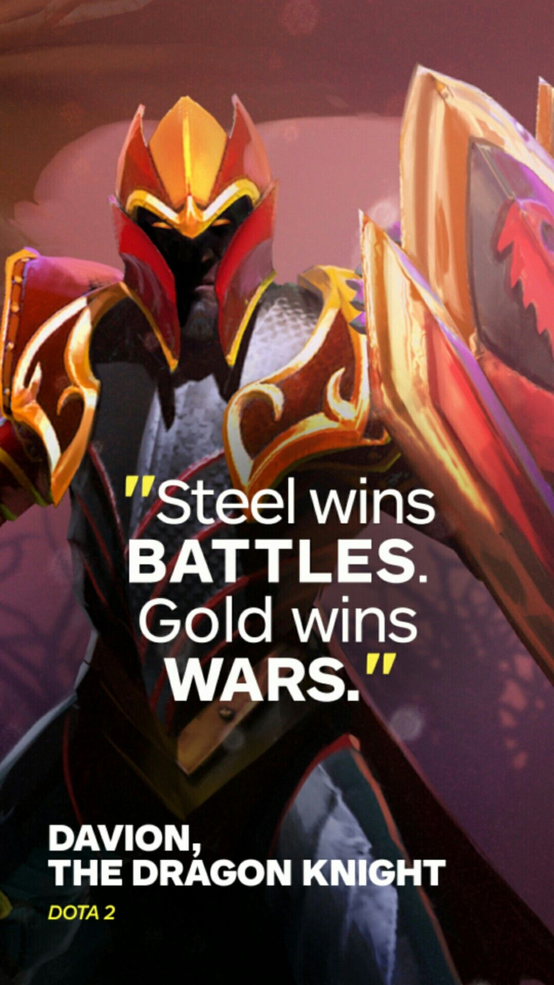 Quote Dota 2 Dragon Knight Dota2 Character Quote Dragon Knight