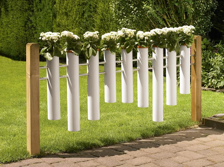 Toom Kreativwerkstatt Blumenzaun Quot Klein Amsterdam Quot Selbermachen Garten Garten Haus Und Garten