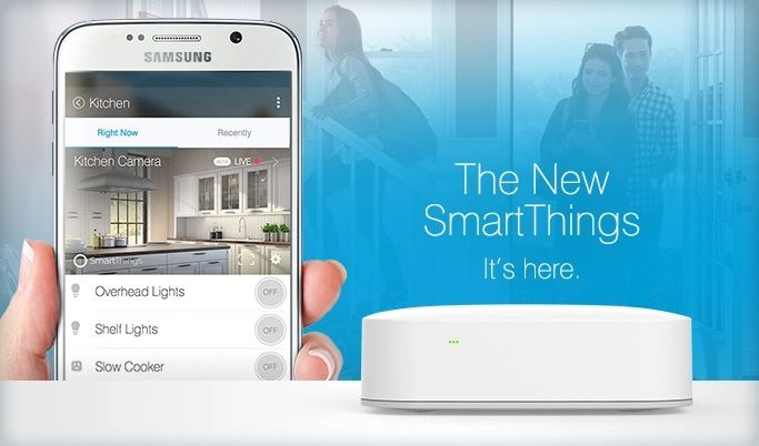 Samsung unveils new SmartThing hub, available today for