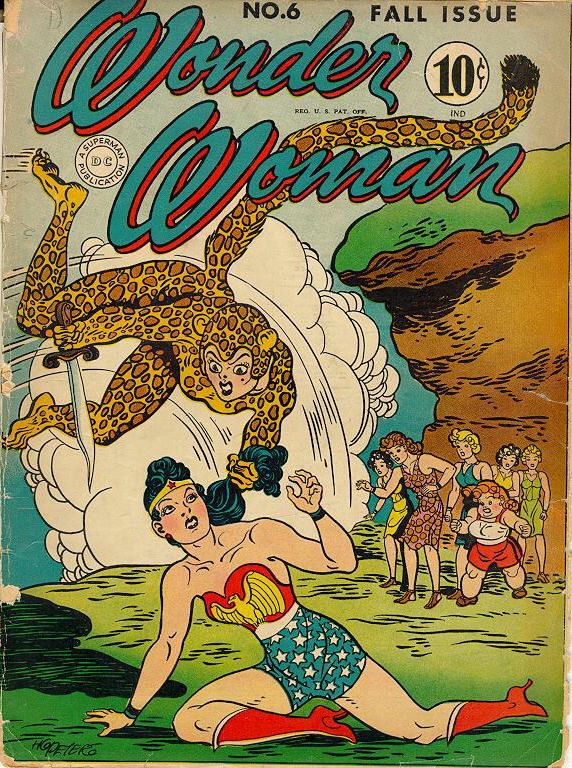 Who was the first wonder woman-1583