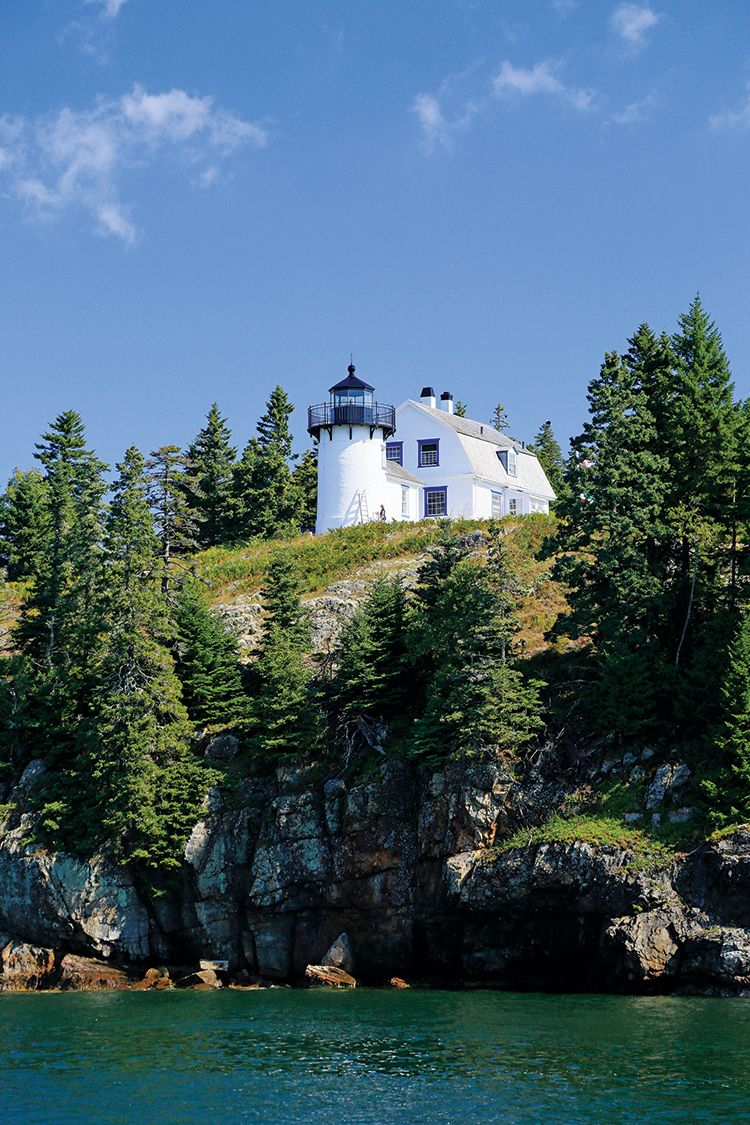 Bear Island Light, Somes Sound, by Mark J  Bilak, for our 2018 Maine