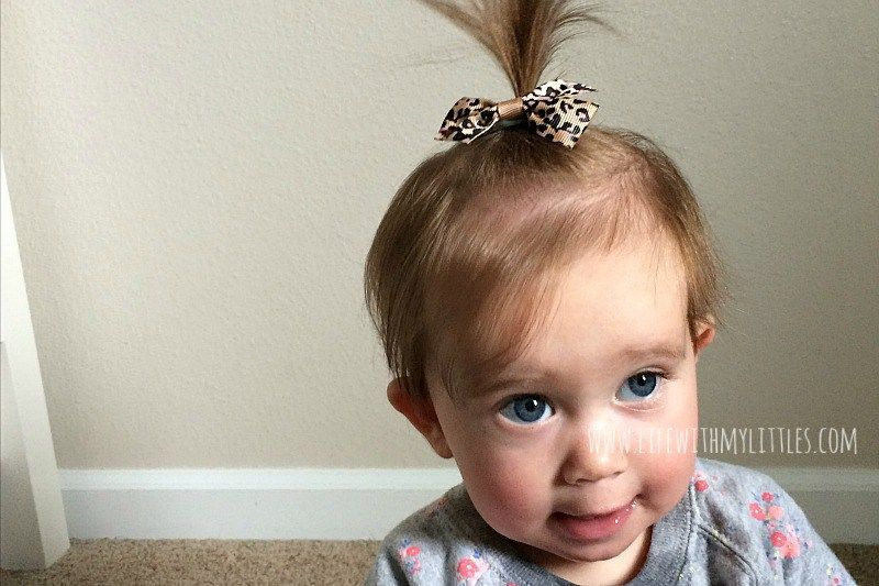 Baby and Toddler Girl Hairstyles - Life With My Littles #babygirlhairstyles