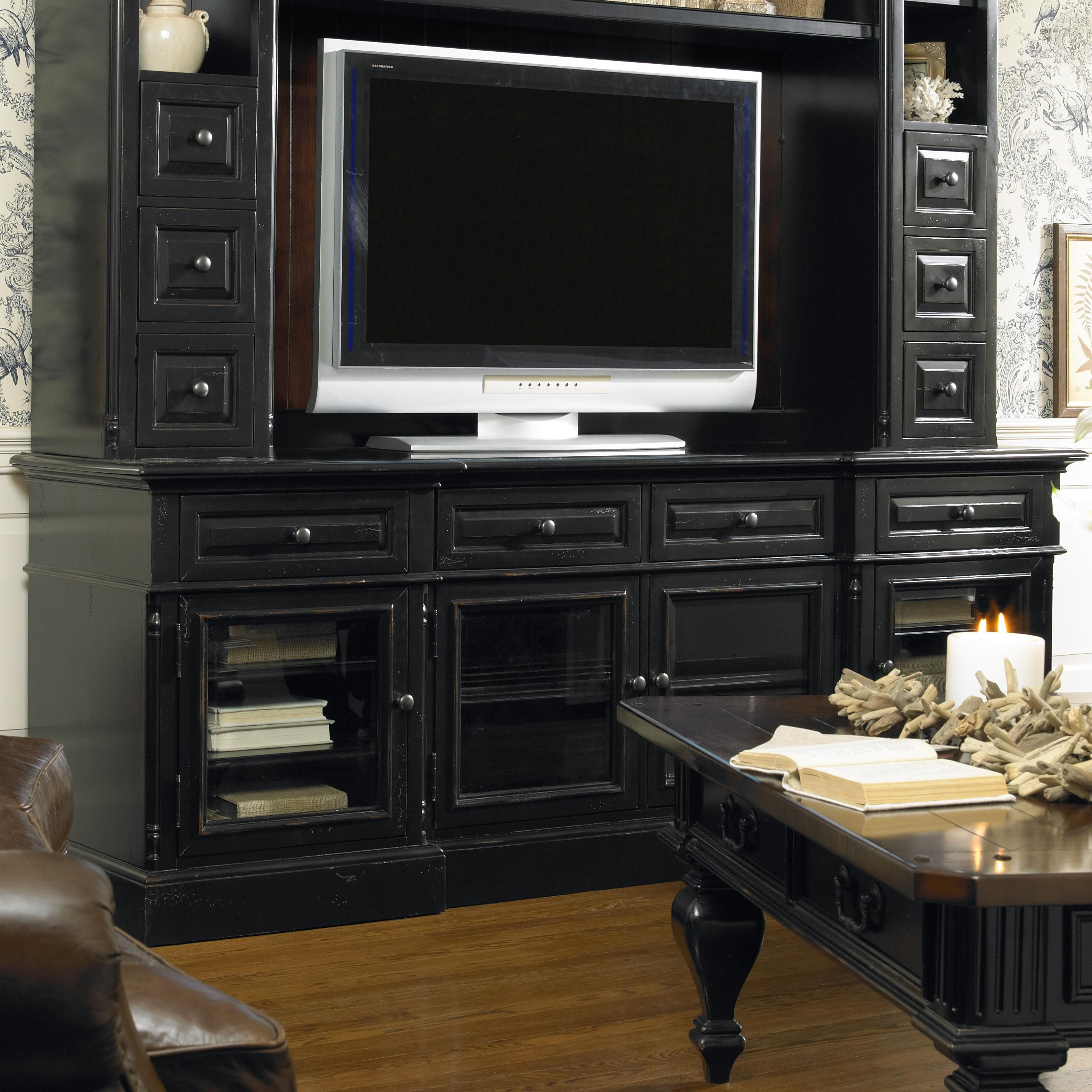 hooker furniture entertainment center. New Castle II Entertainment Console With 4 Doors By Hooker Furniture - AHFA TV Or Center L