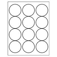 Free Avery Templates Round Label 12 Per Sheet 5294